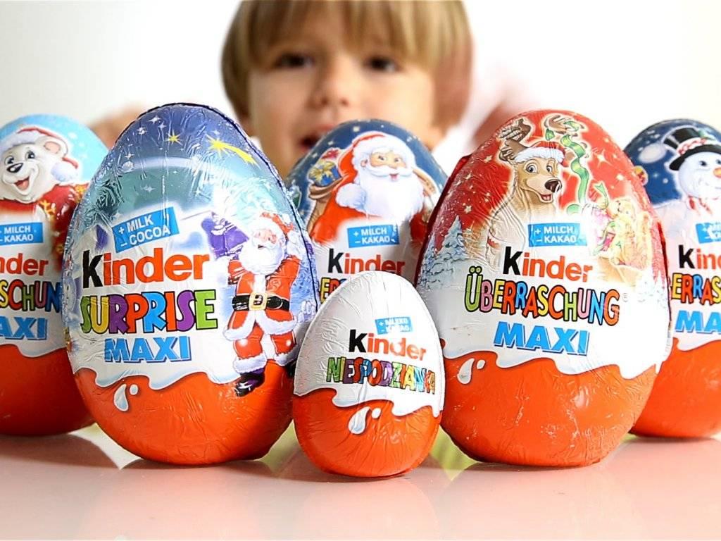 Киндер шоколад: состав, польза или вред для детей