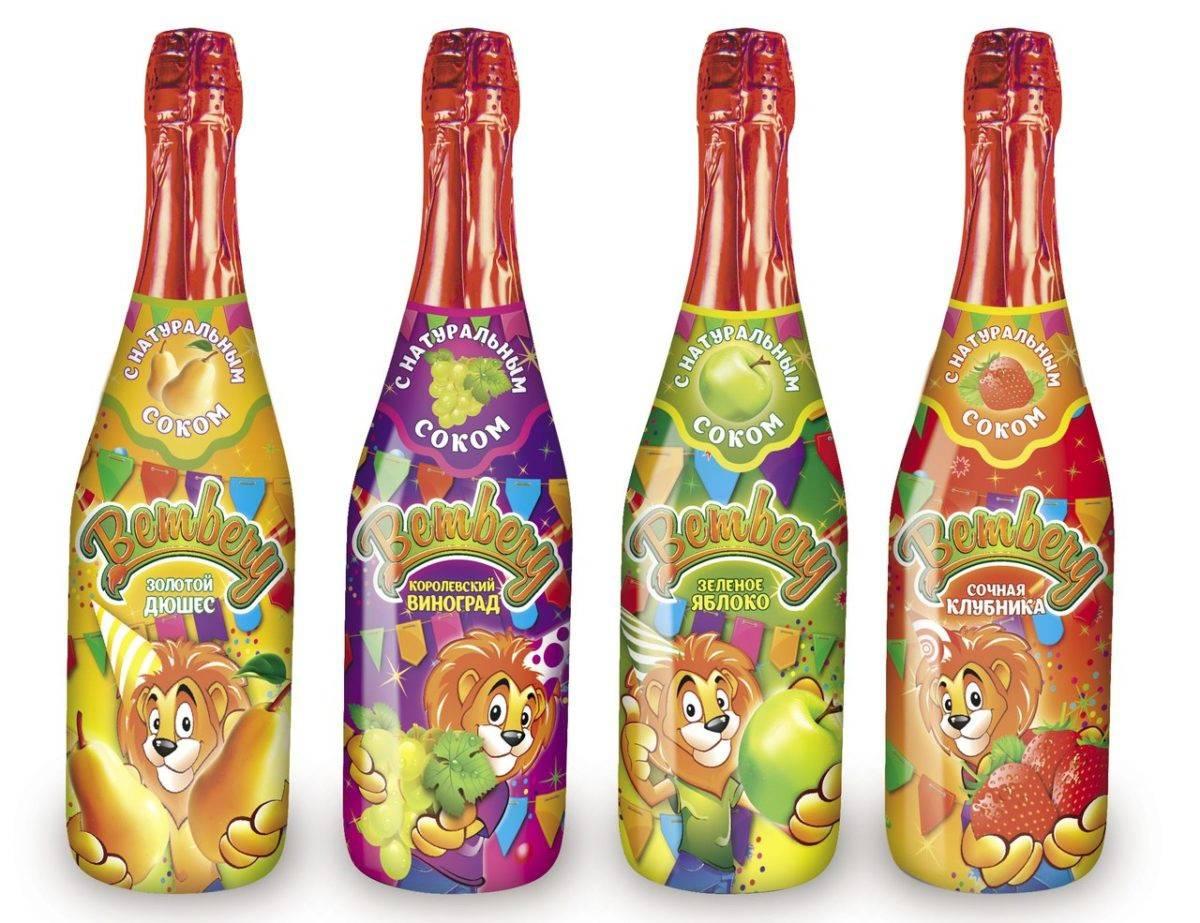 С какого возраста можно детское шампанское