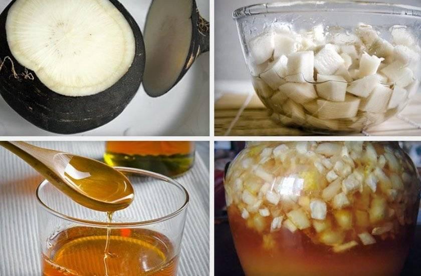 Как сделать редьку с медом от кашля