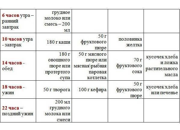 Меню и рацион ребенка в 10 месяцев: что и сколько ребенок должен есть, режим питания / mama66.ru