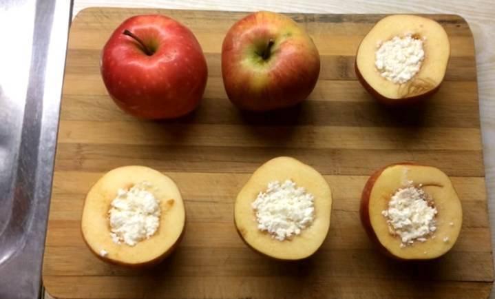 Печеные яблоки для кормящей мамы