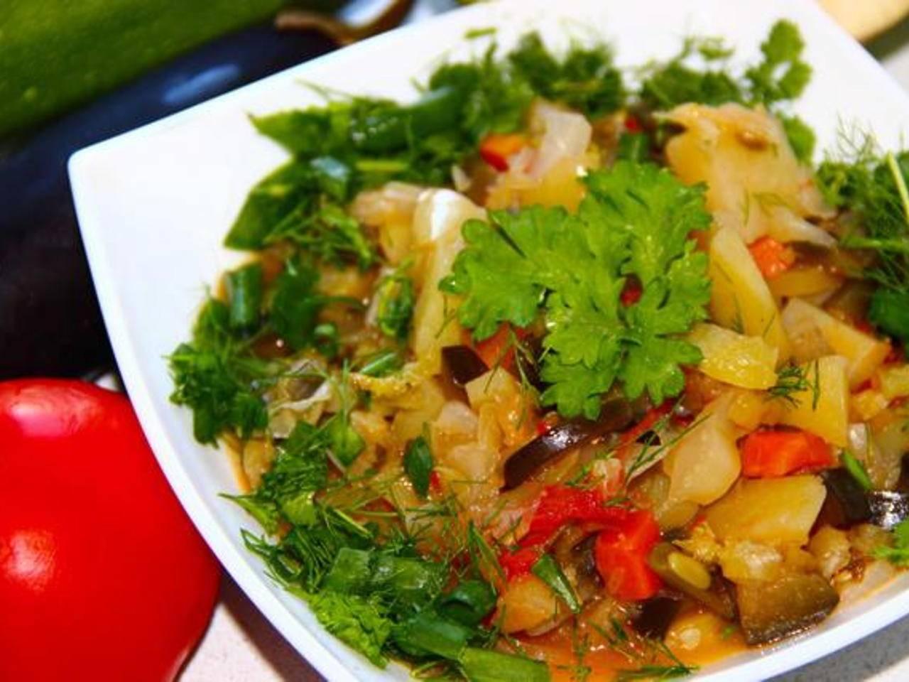 Овощное рагу при грудном вскармливании: рецепты для кормящих