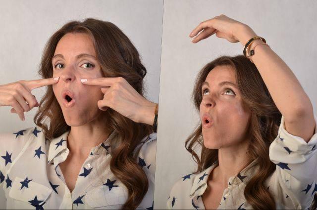 Гимнастика для лица анастасии бурдюг: фото до и после, видео упражнений