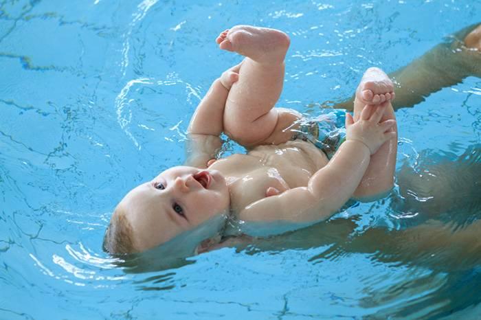 Плавание для грудничков в ванне и бассейне