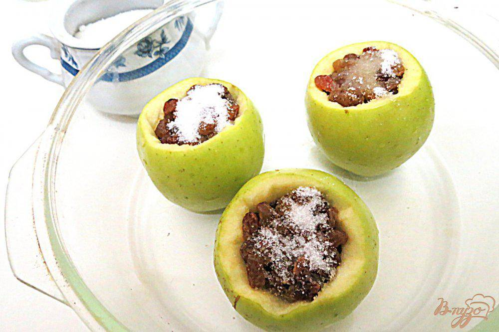 Полезные вкусняшки для кормящих мам: лучшие рецепты приготовления печеных яблок в микроволновке