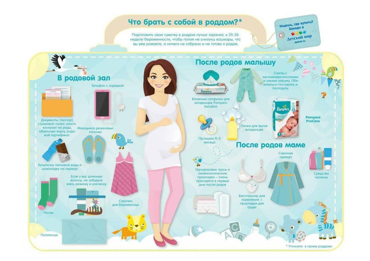 Список необходимых вещей для новорожденного на первое время и в роддом