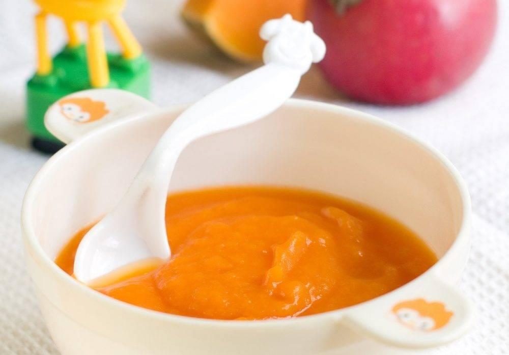Овощные пюре для детей: топ-9 вкусных рецептов