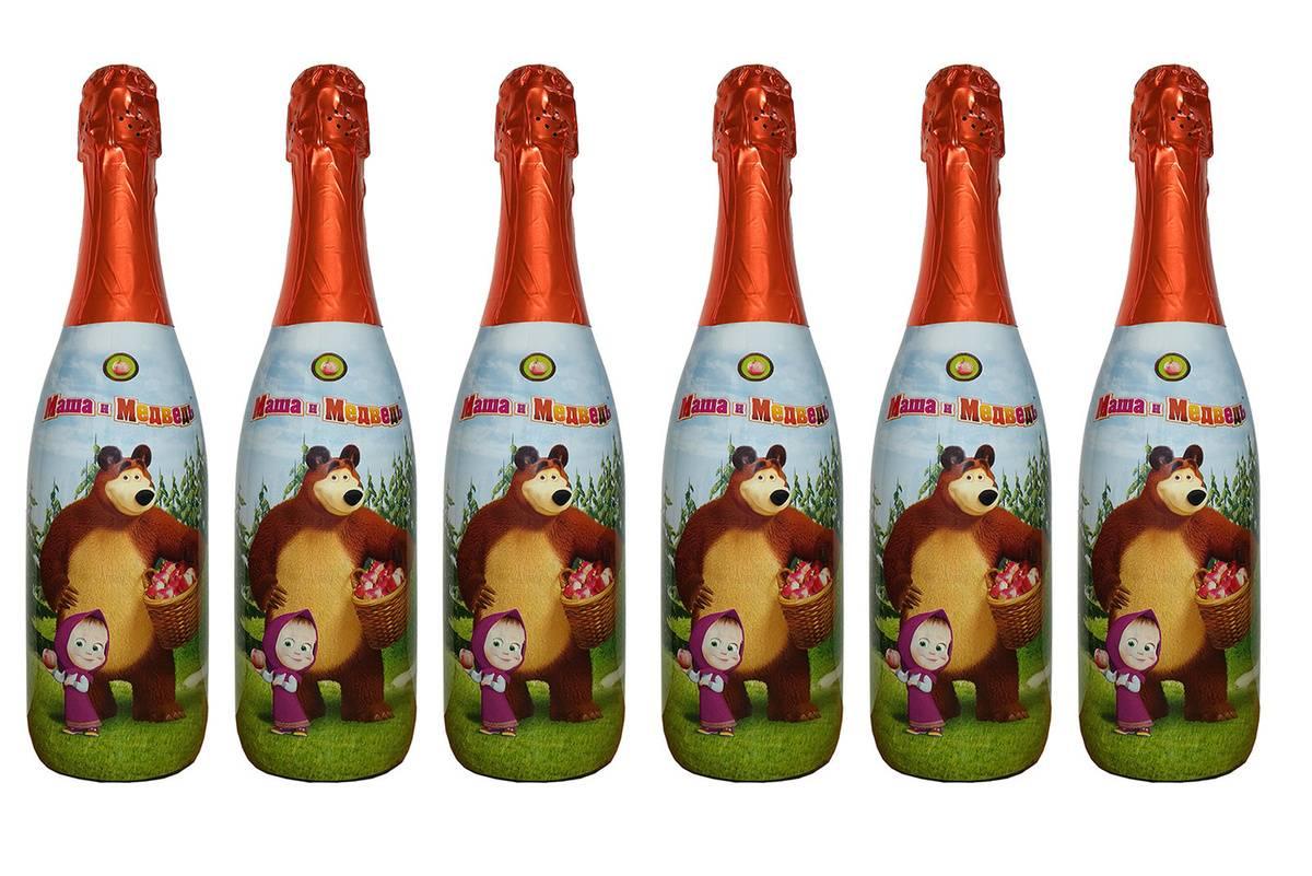 Со скольки лет можно пить детское шампанское