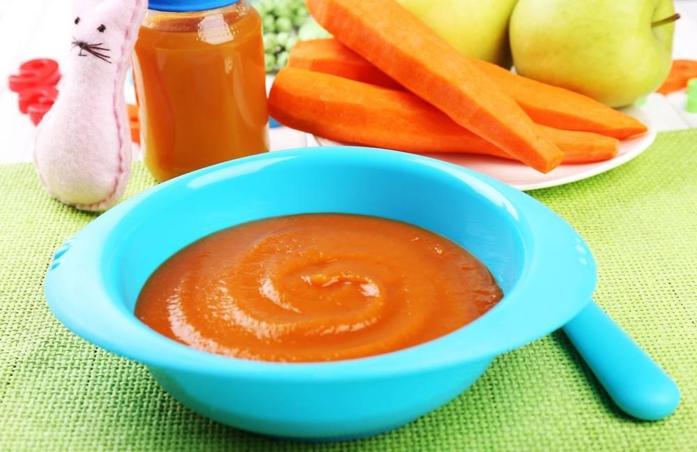 С какого возраста можно морковный сок детям