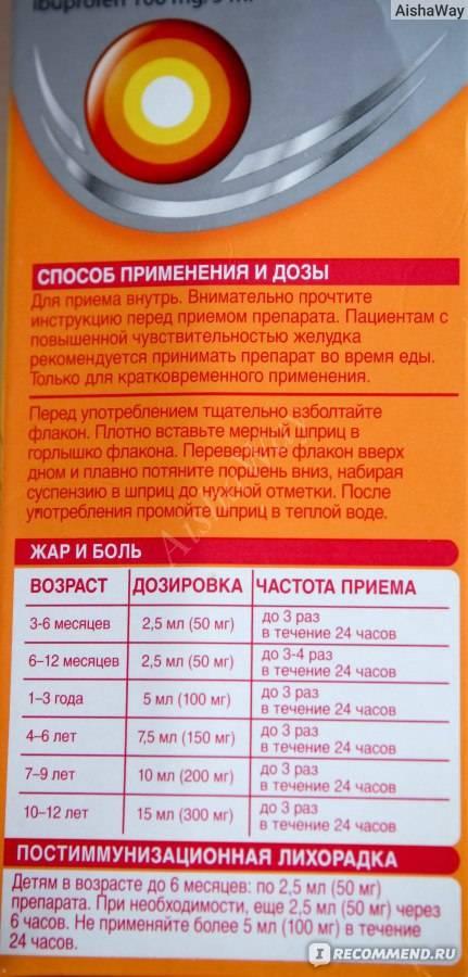 Нурофен при грудном вскармливании. можно или нельзя? отвечает калькулятор