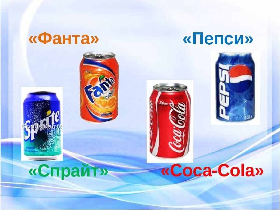 Pepsi vs coca cola история войны брендов   кока кола против пепси реклама, описания, история развития противостояния